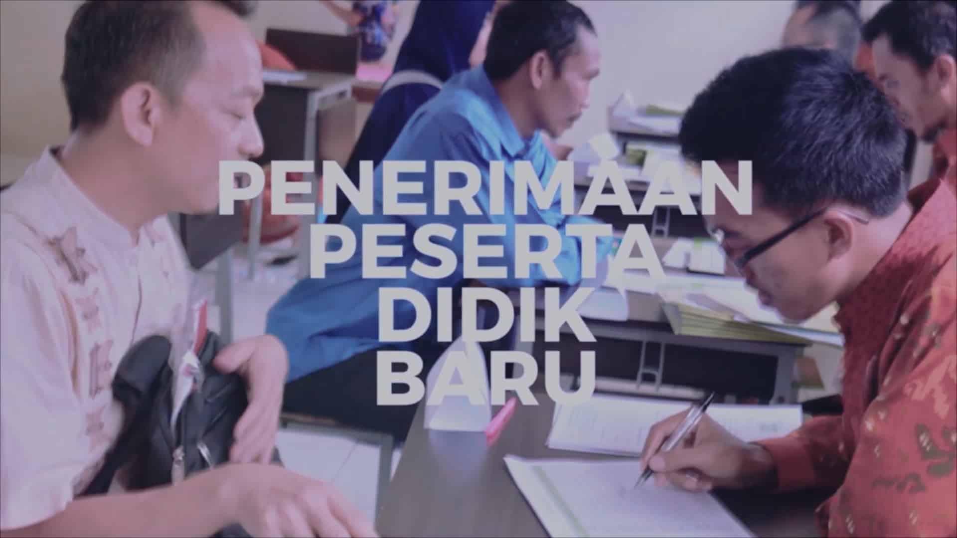 01. PENERIMAAN PESERTA DIDIK BARU (PPDB)