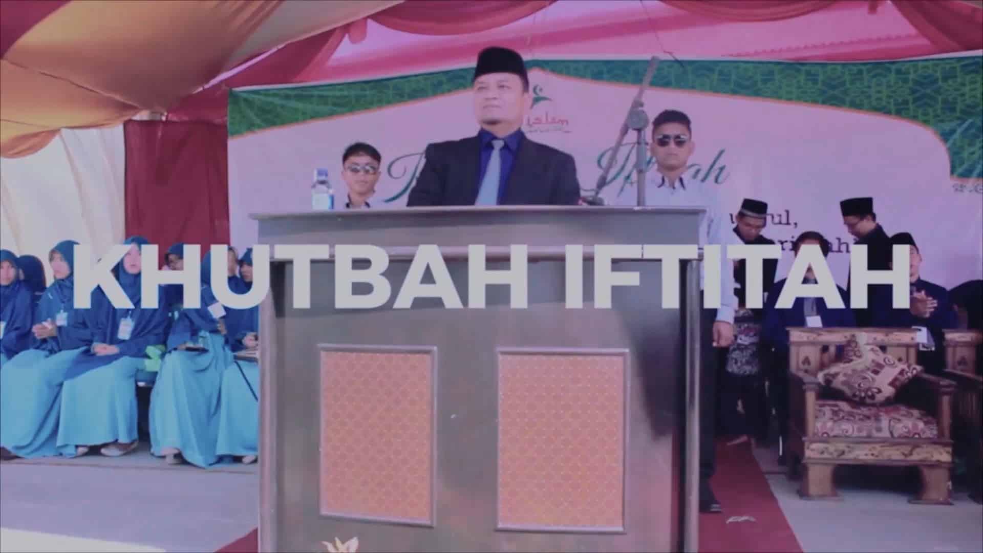 02. KHUTBAH IFTITAH